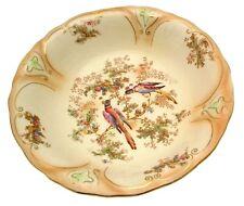 More details for antique draining bowls bird pattern decorative bowls