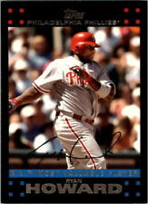 2007 TOPPS - 322 RYAN HOWARD NL Most Valuable Player ROOKIE Phillies LOOK!