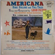 LEON PAYNE: Americana Ballads Tales STARDAY USA Orig SHRINK Vinyl LP Country NM-