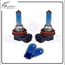 2x Replacement XENON Upgrade 12v H11 55w Bulbs & 2x Blue 501 Side Lights