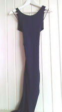 BNWT - MISSI BLUE STRETCHY SLEEVELESS BODYCON PARTY / EVENING DRESS - SIZE 8