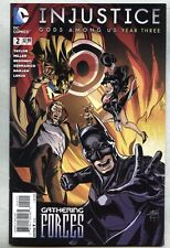 Injustice Gods Among Us Year Three #2-2014 nm- DC Justice League Tom Taylor