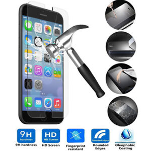 TEMPERED GLASS  SCREEN PROTECTOR FOR APPLE IPHONE 7 6 plus 7 plus
