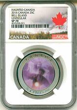 2016 Haunted Canada #3 Ghost of Bell Island Hag 25 Cents Lenticular Quarter