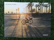 NEW ~ 2019 TREK ~ ELECTRIC E CITY BIKES ~ CYCLE BIKE CATALOGUE ~ 40 PAGES
