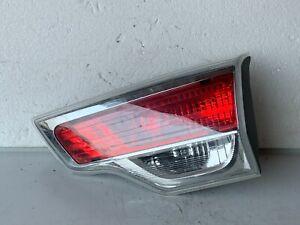 2014-2017 Toyota Highlander Rear Right Passenger Side Inner Tail Light Lamp OEM