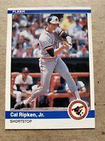 CAL RIPKEN JR 1984 Fleer. Beautiful card! Baltimore Orioles