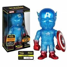 Marvel True Blue Captain America Hikari Sofubi Figure Funko
