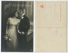 52557 - Glück - Liebespaar - alte Ansichtskarte