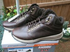 Mens Khombu Boots Leather Waterproof Hiking Walking Outdoor Boots UK 12 BNIB