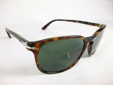 PERSOL 3019-S 24/31 ITALY BROWN TORTOISE FRAME & GREY GREEN LENS SUNGLASSES