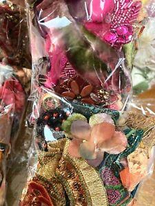Assorted Appliques Panel Trim Pieces Tutti Frutti 1 Grab Bag