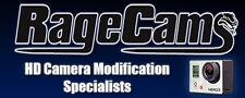 RAGECAMS GEN4 GEN5 HELMET CAM MOUNTS/LENSES+Accessories pkg bundle For Archos