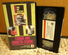 TERRORISM & COUNTER-TERROR Sendero Luminoso documentary Peru 1995 guerilla VHS