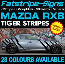 MAZDA RX8 TIGER STRIPES GRAPHICS DECALS STICKERS CAR VINYL 1.3 COUPE RX-8 AUTO