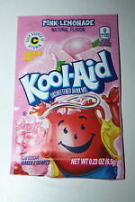 5 x US Kool-Aid Unsweetened Soft Drink Mix PINK LEMONADE Flavor