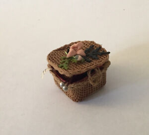 Dolls House Knitting Basket