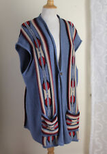 Chaps Ralph Lauren Elegant Cotton Long Southwest Western Cardigan Sweater Sz 2X