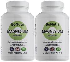 SPARPACK Magnesiumcitrat 400 mg Magnesium/Tag 360 vegane Kapseln 6-Monatsbedarf