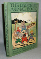 Antique Childrens Book The Raggedy Animal Book Illustrated 1928 1st Ed. Ripley