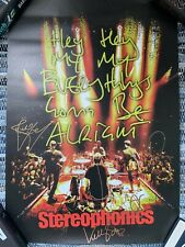More details for signed stereophonics ltd to 100 poster hey hey, my my, gonna be alright & proof
