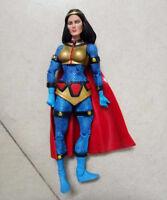 "DC Universe Classics Atom Smasher Wave 7 Big Barda without Helmet loose 6"""
