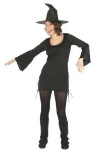 Funstars Ladies West Witch Womens Fancy Dress Costume - One Size Fits Most
