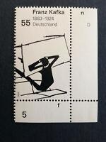 BRD 2008 1 Briefmarke Rand UR 125. Geburtstag von Franz Kafka MiNr 2680