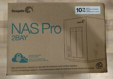 Seagate NAS Pro 2-Bay 10TB Network Attached Storage - Brand New & Factory Sealed