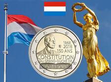 2 euro 2018 - Luxembourg Luxemburg Luxemburgo - 150 Ans de la Constitution 1868