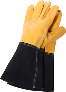 Town & Country TGL415 Deluxe Premium Leather Gauntlet Mens Gloves Town and Palm,