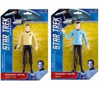 "(6"" BENDABLE SET) NJ Croce Star Trek: Spock and Kirk"