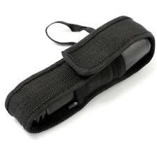 Black 16cm  Nylon Holster Holder Pouch Case for Flashlight Torch GA