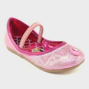 1/2 OFF SHOE SHOP-Nickelodeon Shimmer Shine Toddler Girls Ballet Flats SZ 6 Pink