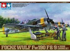 "Kit montaggio aereo 1:48 TAMIYA 61104 ""FOCKE-WULF Fw190 F-8/9""w/BOMB LOADING SET"