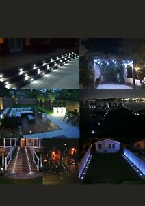 6X31mm IP67 cold white LED Deck Patio Stair Light Outdoor / indoor W / M sansor