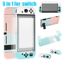 For Nintendo Switch Joy-Cons Console Hard Case Protective Cover Screen Protector