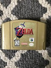 Legend of Zelda: Ocarina of Time (Gold) Nintendo 64 Game Cartridge