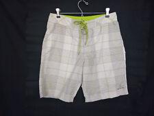 PrAna Mens Size 30 X 9 Inseam El Porto Nylon Board Shorts Trunks Baja Stripes