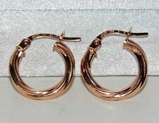 8a05b0780 Snap Closure Hoop Rose Gold Fine Earrings for sale | eBay