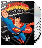 Superman: The Complete Animated Series [DVD Box Set, 54-Episode, 7-Disc] NEW