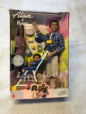 Alan & Ryan Happy Family Barbie Doll Dad and Son With Sporty Stroller NIB