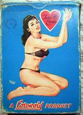 Cotswold Playing Cards Mädchen Pin UP Erotik - Tease me Cards