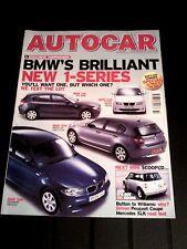 AUTOCAR MAGAZINE 10-AUG-04 - Fiat Barchetta, Streetka, Vauxhall Tigra, Corvette