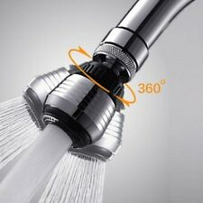 Water Saving Tap Aerator 360° Rotate Faucet Swivel End Diffuser Adapter Filter