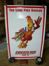Chicken Run, orig rolled D/S 1-sh / movie poster (animation) 2000 - Advance