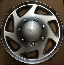 "F8UZ*1130*AA, Ford full wheel cover hub caps with 17 1/2"" dia for E-series vans"