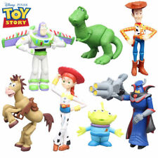 7PCS TOY STORY WOODY JESSIE BUZZ ACTION FIGURES FIGURINES CAKE TOPPER DECOR TOY