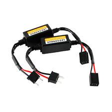 2pcs H7 LED Headlight Canbus Error Anti Flicker Resistor Canceller Decoder Hot