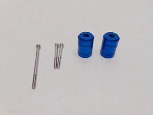 Pro Bolt - BARENDSU30-B - Bar Ends, Blue